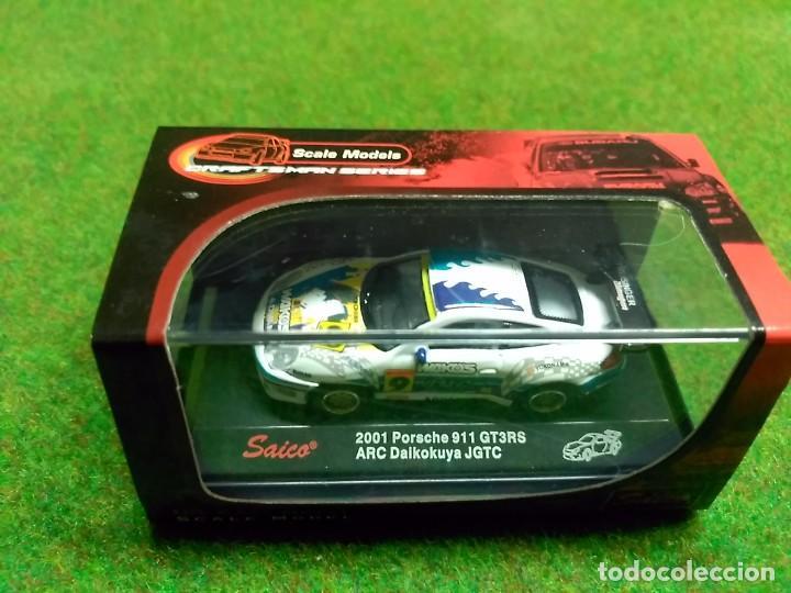 PORSCHE 911 GT3RS 2001 - SAICO - 1/72 (Juguetes - Coches a Escala 1:72)