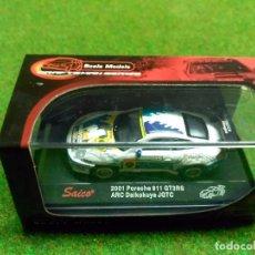 Coches a escala: PORSCHE 911 GT3RS 2001 - SAICO - 1/72. Lote 104779987