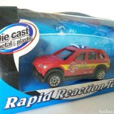 Coches a escala: BMW X5 RAPID REACTION TEAM METAL Y PLASTICO ESCALA 1:72. Lote 104978512