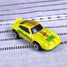 Modellautos - Porsche 911 Turbo de Hot Wheels a escala 1:72.Chevy Mini Automagic.1974. Mattel. Hotwheels. Metal. - 61102255