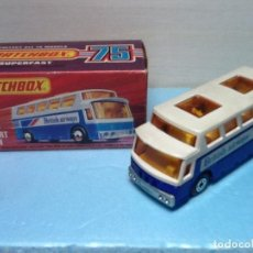Coches a escala: MATCHBOX SUPERFAST N.65 CON CAJA. AIRPORT COACH. Lote 107267503
