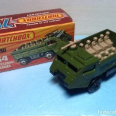 Coches a escala: MATCHBOX SUPERFAST N.54 CON CAJA. PERSONNEL CARRIER. Lote 107267591