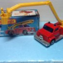 Coches a escala: MATCHBOX SUPERFAST N.13 CON CAJA. SNORKEL FIRE ENGINE. Lote 107268111