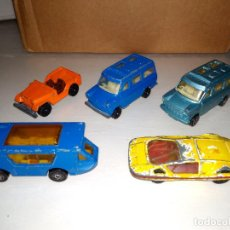 Model Cars - CORGI JUNIORS - LOTE DESGUACE (2) - 5 COCHES - 110677683
