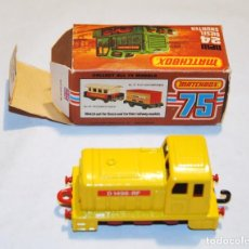 Coches a escala: TRACTORA TREN MATCHBOX Nº 24 NEW DIESEL SHUNTER. Lote 120668839