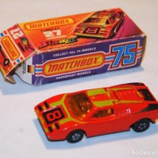 Coches a escala: LAMBORGHINI MATCHBOX N.27 NEW STREAKERS CON CAJA. Lote 120669239