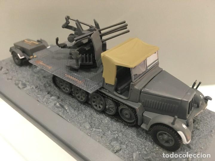 Coches a escala: Carro de combate flakvierling sd. kfz 7/1 whit sd. ah. 51 trailer 24. pz. div don river sector (ussr - Foto 3 - 155339013