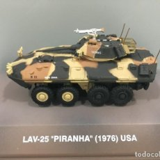 Coches a escala: CARRO DE COMBATE LAV-25 PIRANHA (1976) USA. ESCALA 1: 72. Lote 145092206