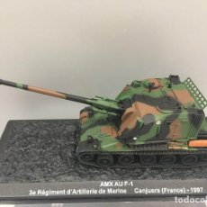 Coches a escala: CARRO DE COMBATE AMX AU F-1 CANJUERS (FRANCE)-1997. ESCALA 1: 72. Lote 121172243
