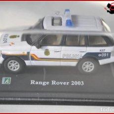 Coches a escala: TX 386 COCHES ESCALA 1:72 - HONGWELL - RANGE ROVER 2003 POLICIA NACIONAL. Lote 121266355
