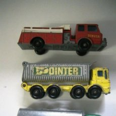 Coches a escala: COCHES CAMIONES MATCHBOX LESNEY. Lote 130922004