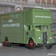 Coches a escala: CAMIÓN GUY PANTECHNICON DE BRS PARCELS SERVICES - DAYS GONE TRACKSIDE 1/76. Lote 136196862