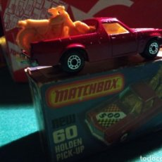 Coches a escala: MATCHBOX HOLDEN PICK UP. Lote 142308330