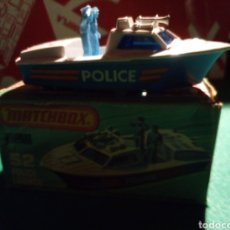 Coches a escala: MATCHBOX POLICE LAUNCH. Lote 142309361