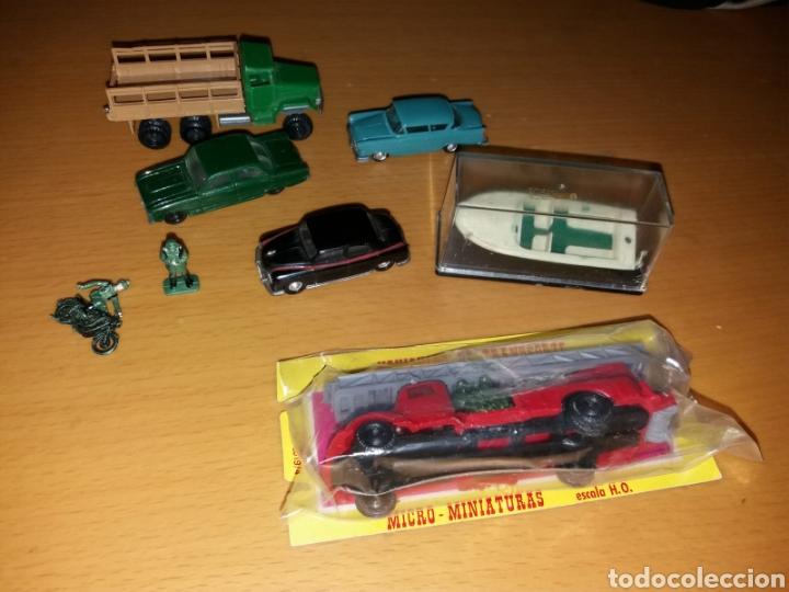 Coches a escala: Lote coches EKO 2 en blister y muñecos alguno escaso - Foto 2 - 145748306