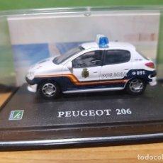 Coches a escala: COCHE DE POLICIA PEUGEOT 203 , ESCALA 1/72. Lote 148052574
