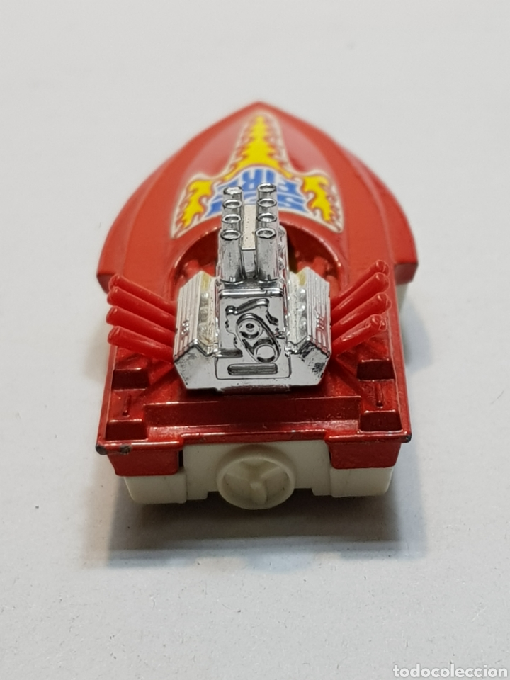 Coches a escala: Lancha Matchbox Seafire rojo escaso - Foto 3 - 148217106