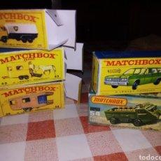 Coches a escala: LOTE 5 CAJITAS MATCHBOX. Lote 149251124
