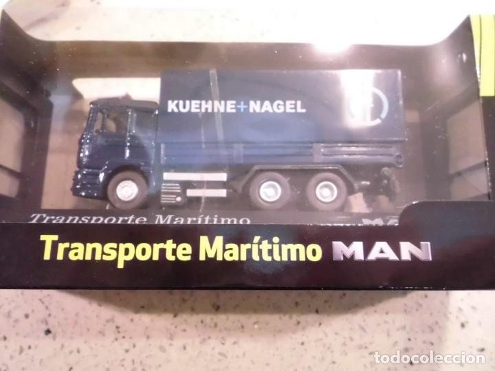 Coches a escala: CAMION TRANSPORTE MARITIMO MAN - ESCALA 1:72 - NUEVO EN CAJA ORIGINAL - Foto 2 - 150577118