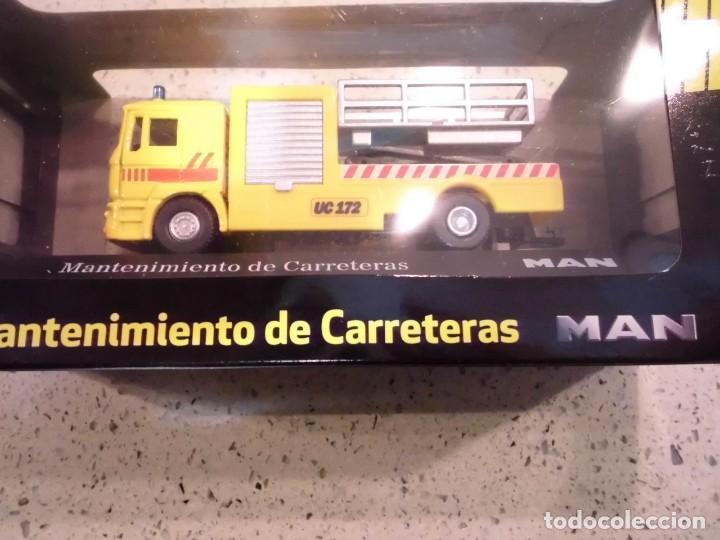 Coches a escala: CAMION MANTENIMIENTO CARRETERAS MAN - ESCALA 1:72 - NUEVO EN CAJA ORIGINAL - Foto 2 - 150577330