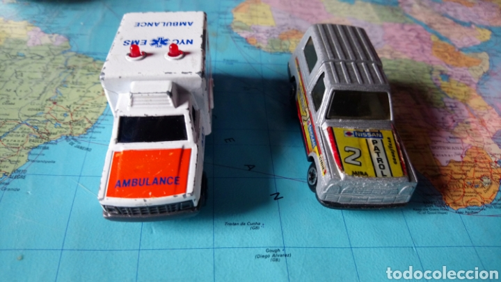 Coches a escala: Ambulancia majorette sonic flashes y Nissan patrol mira - Foto 2 - 150634993