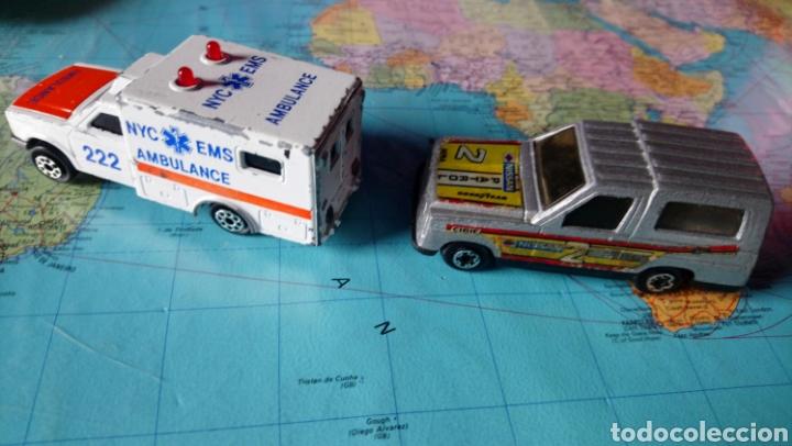Coches a escala: Ambulancia majorette sonic flashes y Nissan patrol mira - Foto 3 - 150634993