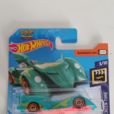 Coches a escala: HOT WHEELS BATMOBILE SCOOBY-DOO BATMAN 2019. Lote 196550863