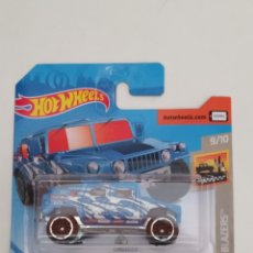 Coches a escala: HOT WHEELS HUMVEE TH TREASURE HUNT. Lote 196550787