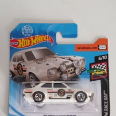 Coches a escala: HOT WHEELS FORD ESCORT RS1600 GUMBALL 3000. Lote 169136369