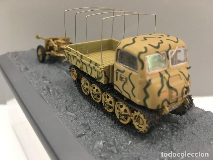 Coches a escala: Carro de combate steir rso 0/1 + pak 40 anti-tank gun 2. pz. div. normandie (france)-1944 - Foto 3 - 233259485