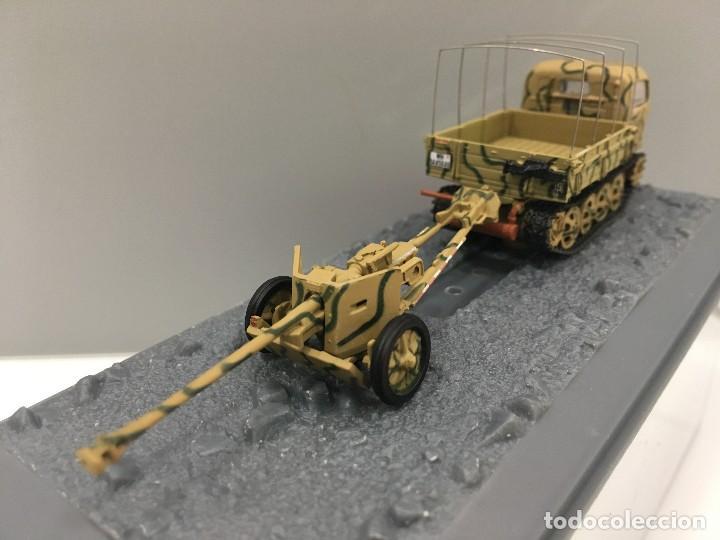 Coches a escala: Carro de combate steir rso 0/1 + pak 40 anti-tank gun 2. pz. div. normandie (france)-1944 - Foto 4 - 233259485