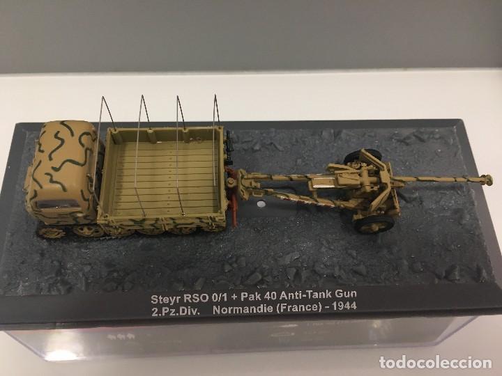 Coches a escala: Carro de combate steir rso 0/1 + pak 40 anti-tank gun 2. pz. div. normandie (france)-1944 - Foto 5 - 233259485