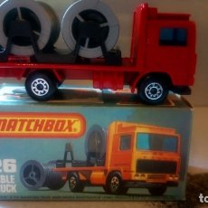Coches a escala: MATCHBOX--CABLE TRUK. Lote 175556797