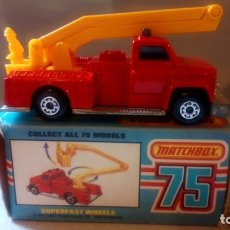 Coches a escala: MATCHBOX--SNORKEL FIRE ENGINE. Lote 175556835