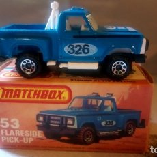 Coches a escala: MATCHBOX--FLARESIDE PICK-UP. Lote 175556877