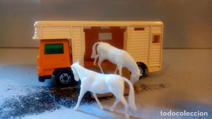 Coches a escala: MATCHBOX--SUPERFAST-Nº40,HORSE BOX - Foto 2 - 175589499