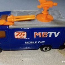 Coches a escala: MATCHBOX--TV NEWS TRUCH. Lote 175663999