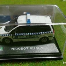 Coches a escala: PEUGEOT 807 SUV POLICIA MUNICIPAL - CARARAMA - 1/72. Lote 176350160