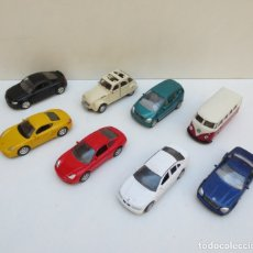 Coches a escala: LOTE DE 8 COCHES - WELLY - PORSCHE ,MERCEDES,, VW ,AUDI , BMW , CITROEN 2C. Lote 176417267