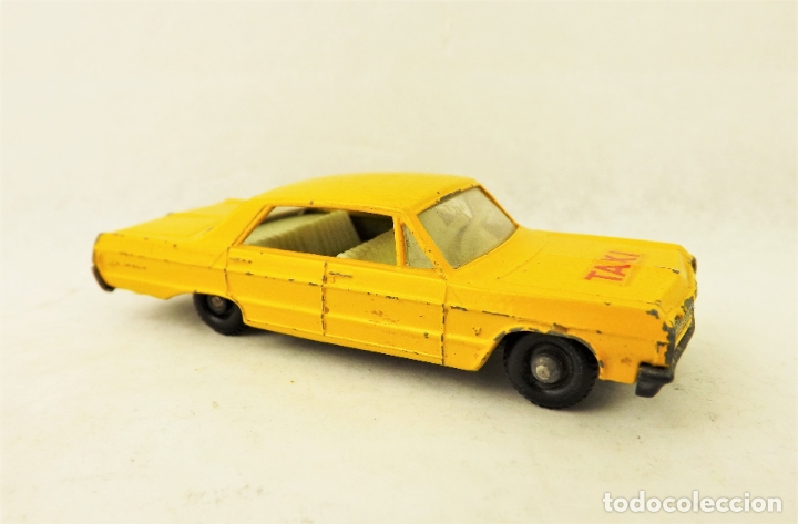 Coches a escala: Matchbox nº 20 Chevrolet Impala Taxi 1/70 - Foto 2 - 177741289