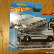 Coches a escala: HOT WHEELS DELOREAN REGRESO AL FUTURO - HOVER MODE. Lote 179340026