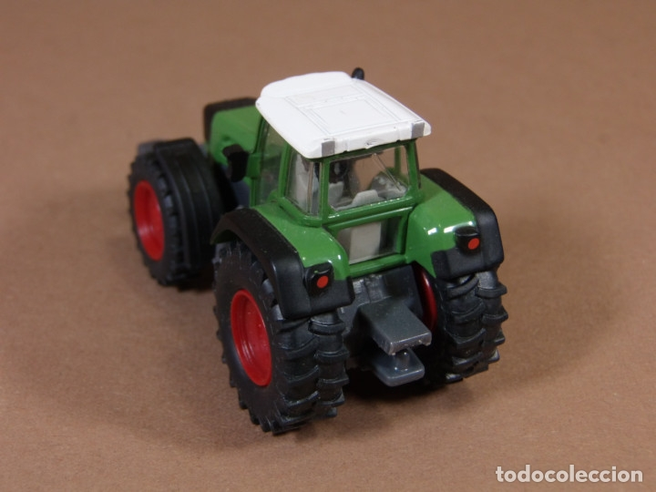 Coches a escala: mira siku tractor agricola fend en metal made in germany matchbox - Foto 4 - 182810273