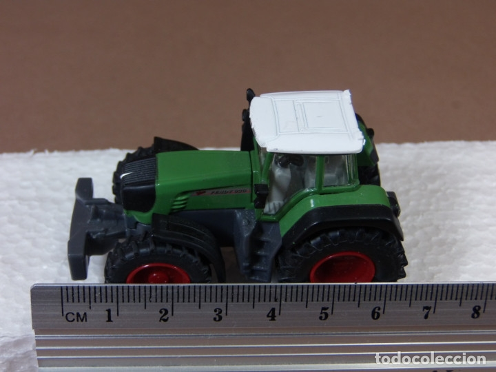 Coches a escala: mira siku tractor agricola fend en metal made in germany matchbox - Foto 6 - 182810273