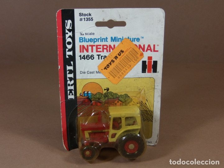 MIRA ERTL TRACTOR AGRICOLA INTERNATIONAL EN METAL MADE IN USA 1970S MATCHBOX (Juguetes - Coches a Escala 1:72)