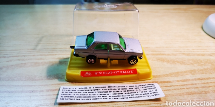 Coches a escala: Guisval Seat 131 con caja de Seat 127 Rally - Foto 3 - 184125011