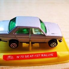 Coches a escala: GUISVAL SEAT 131 CON CAJA DE SEAT 127 RALLY. Lote 184125011