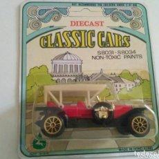 Coches a escala: DIETCAST CLASSIC CARS S8031-S8034 AÑOS 70 NUEVO. Lote 199070923