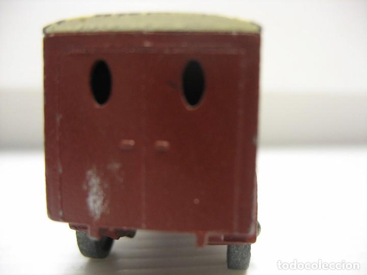 Coches a escala: camion matchbox (lesney) 1º epoca ruedas metal - Foto 2 - 202937201