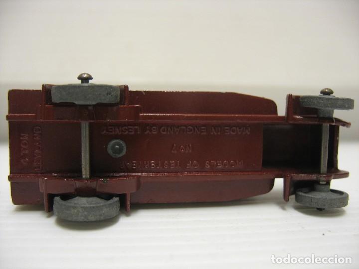 Coches a escala: camion matchbox (lesney) 1º epoca ruedas metal - Foto 6 - 202937201