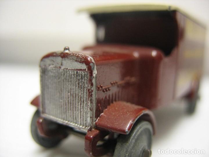Coches a escala: camion matchbox (lesney) 1º epoca ruedas metal - Foto 8 - 202937201